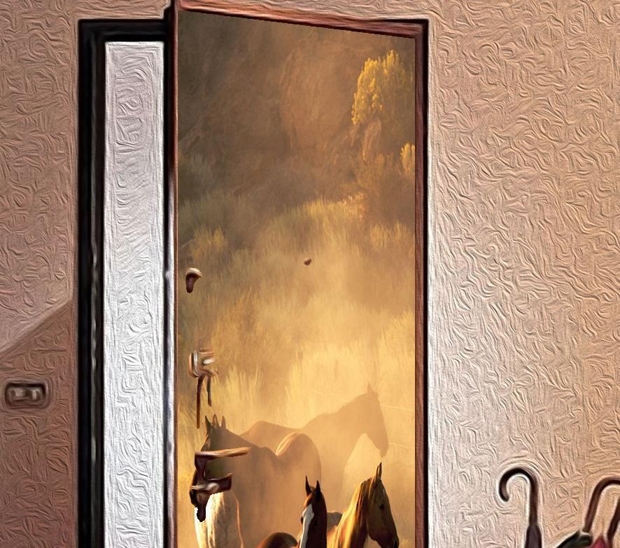 Перед тем как приступить к декупажу двери, стоит попрактиковаться на небольших предметах