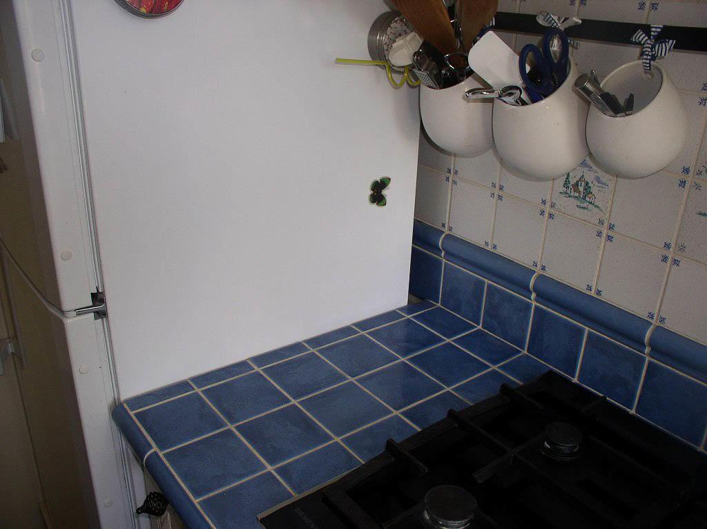 Кухонная столешница из плитки своими руками