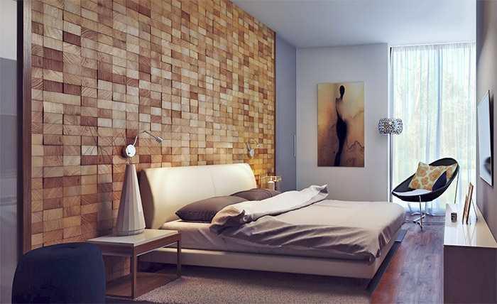 К деревянным обоям отлично подойдут обои нейтральных цветов: они не будут отвлекать внимание от обоев с деревянным принтом