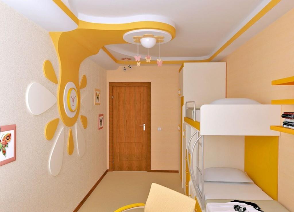 При обустройстве детской спальни не нужно перегружать комнату лишними декорациями и украшениями