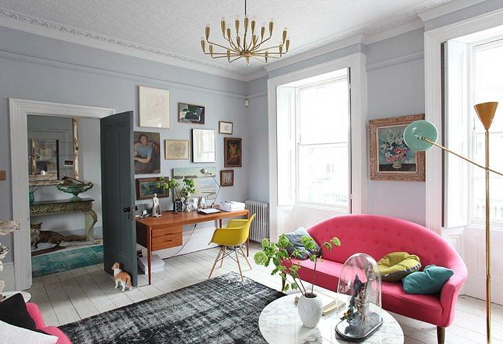 В доме с высоким потолком необходимо позаботиться о качественной теплоизоляции