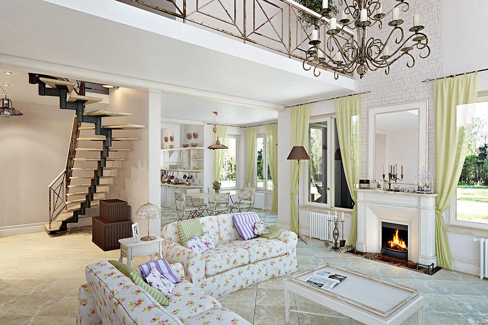 Оформляя гостевую комнату, лучше подбирать практичный и функциональный мебельный гарнитур, который стильно впишется в интерьер помещения