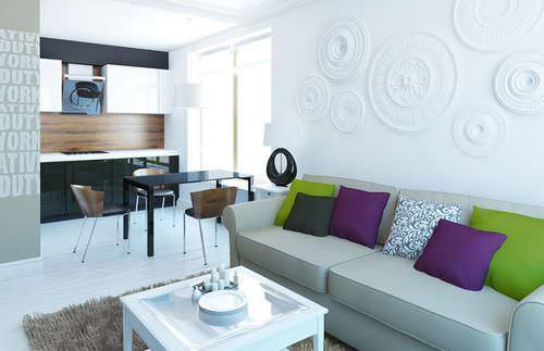 Кухня, совмещенная с гостиной - лучшее решение для площади кухни <strong>дизайн</strong> в 16 кв. м