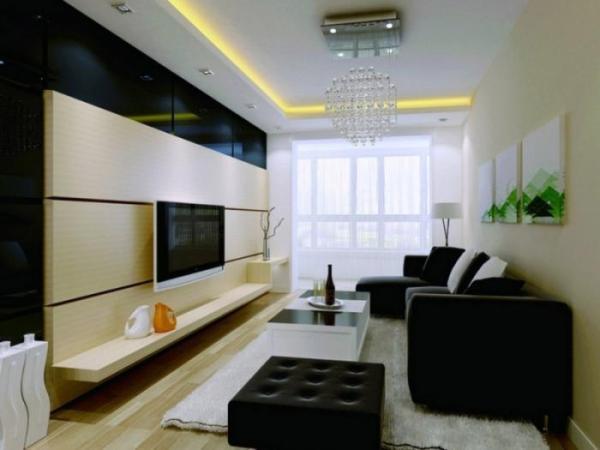 Оформляя маленькую гостиную, следует продумывать каждую деталь и учитывать особенность комнаты