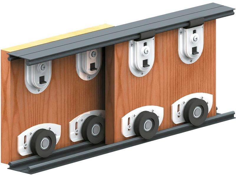 Не стоит выбирать недорогие варианты механизма открывания дверей шкафа-купе, ведь из-за поломки в системе может возникнуть немало проблем
