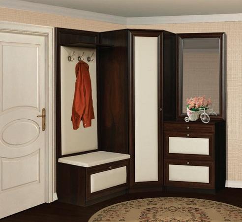 Шкаф с пуфиком - многофункциональный и удобный предмет интерьера