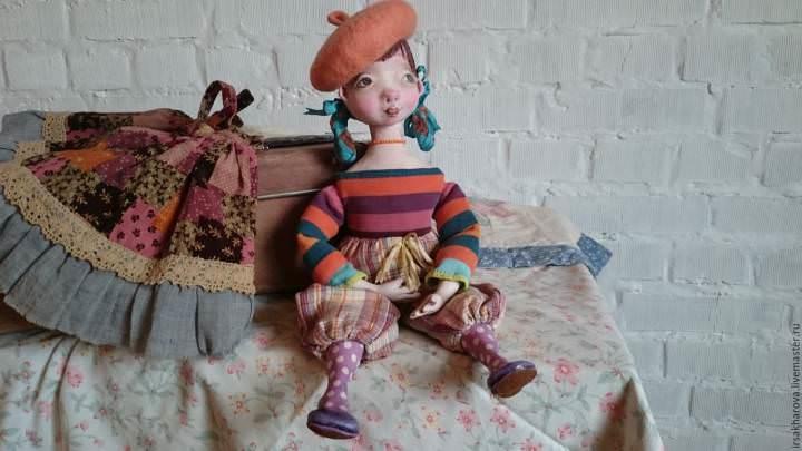 Первоначально техника папье-маше применялась для изготовления кукол