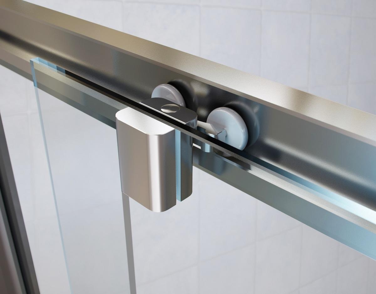 Направляющие для двери могут быть изготовлены из различных материалов в зависимости от цены выбранной модели