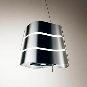 Такая форма будет уместна в кухнях современных стилей: модерн, хай-тек