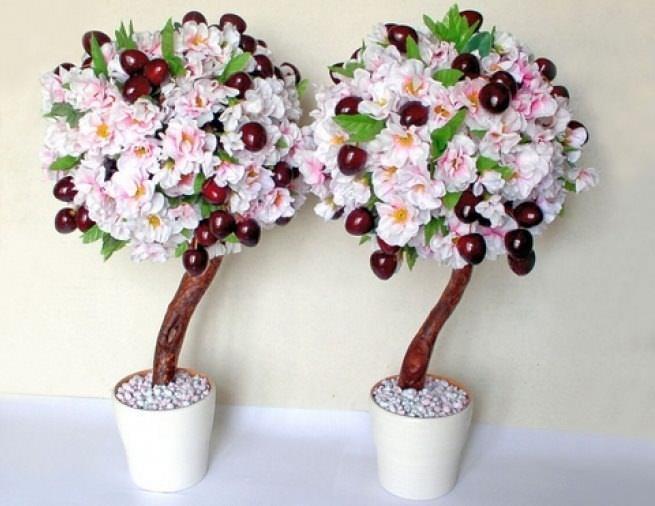 Дерево счастья, созданное своими руками, не только сделает уютной комнату, но и наполнит ее особой теплотой