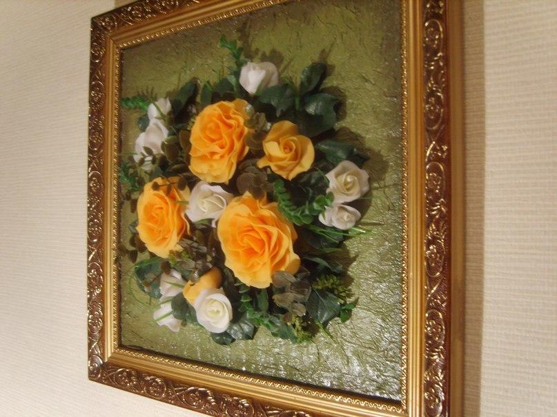 Цветы из фоамирана получаются очень красочными и оригинальными, их сложно отличить от оригинала