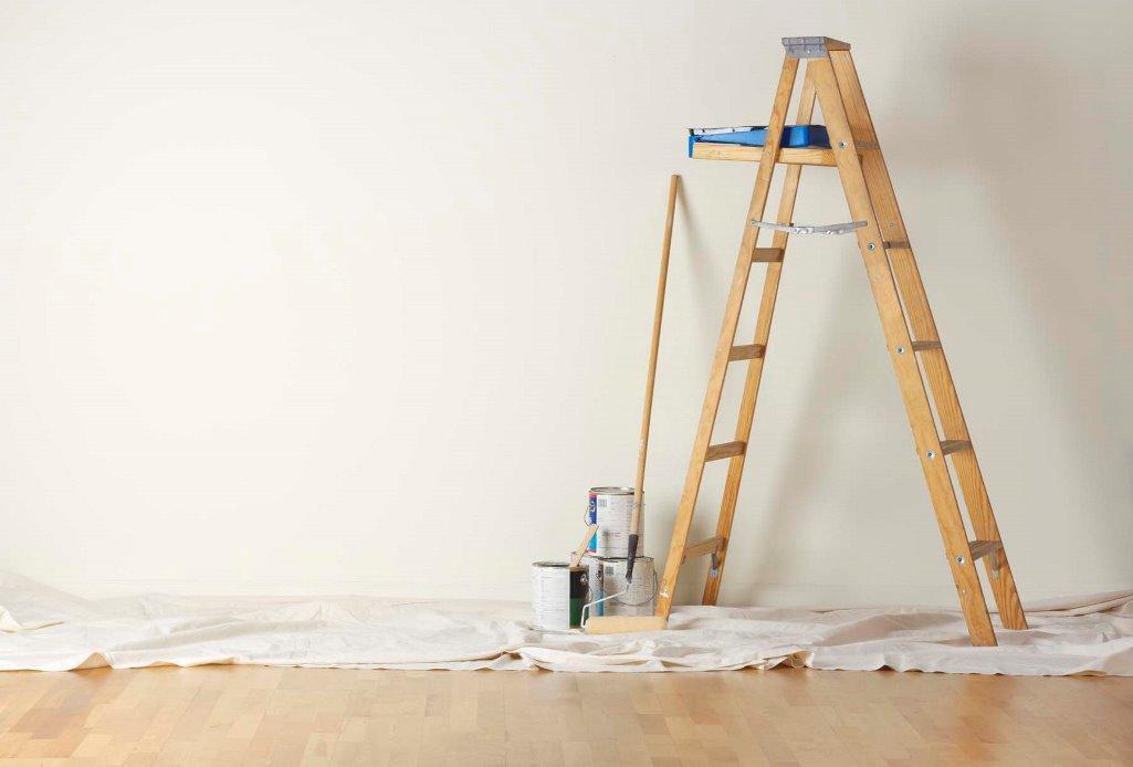 При конструировании стремянки особое внимание следует уделить ее оптимальной высоте