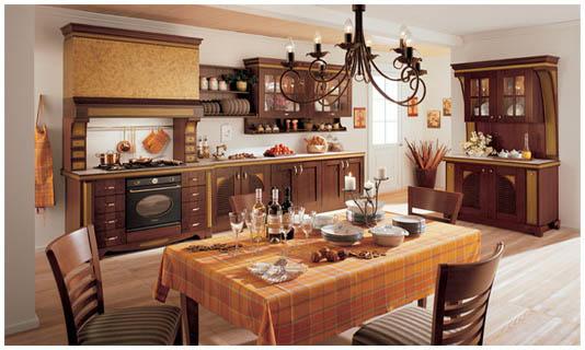 Для кухни в стиле кантри в бюджетном варианте могут пригодиться старые вещи