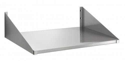 Полка для микроволновки из металла отлично впишется в дизайн кухни в стиле модерн