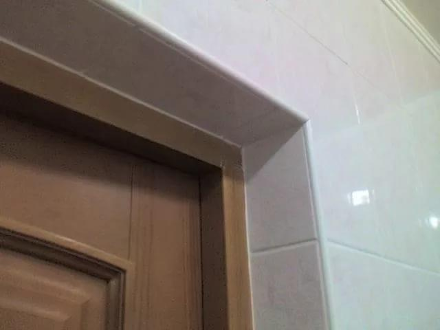 Как сделать откосы на межкомнатные двери видео