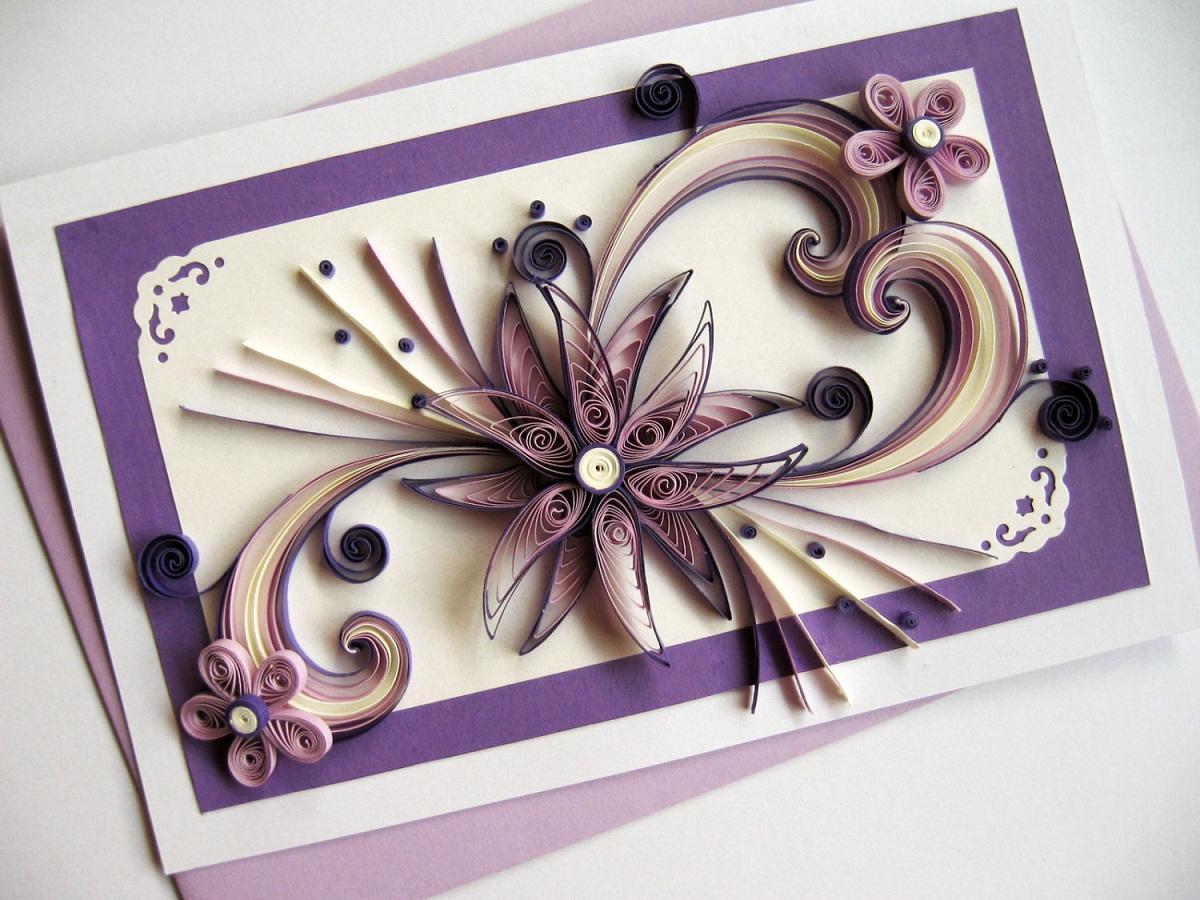 Выбирать цвет бумаги и стиль картины следует, исходя из места, в котором будет расположена композиция