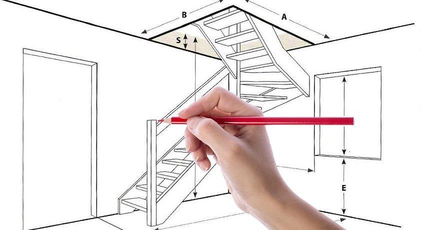 Значительно облегчить работу при построении лестницы и не наделать грубых ошибок позволит наличие чертежа