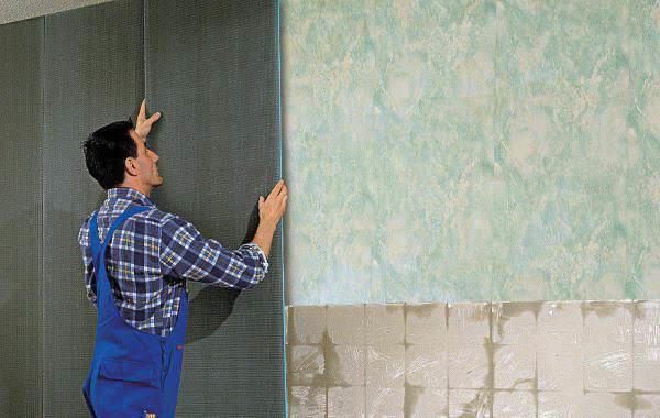 Стеновые панели прекрасно подойдут для большой кухни