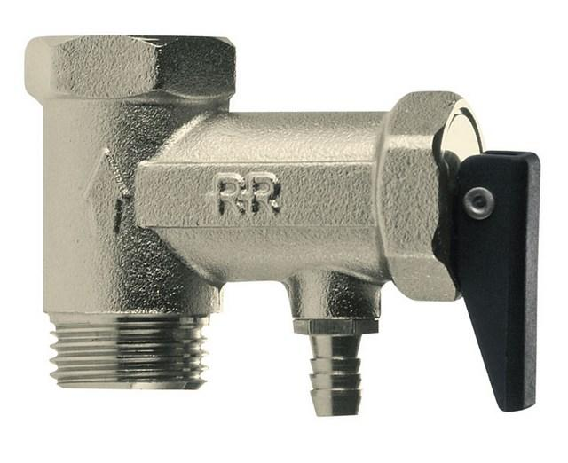 Предохранительный клапан устанавливается на бойлер в обязательном порядке