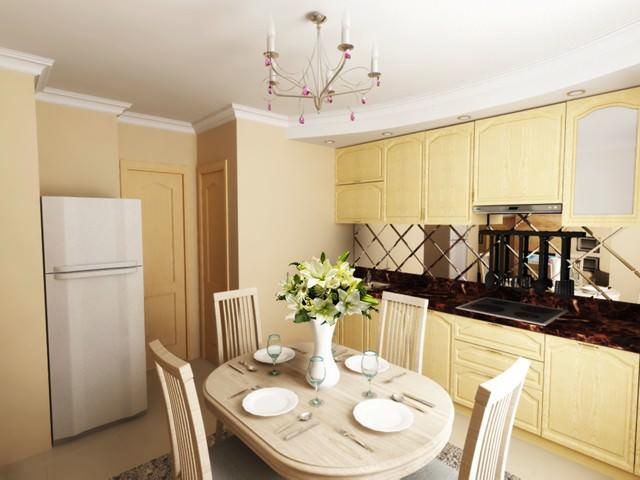 Правильная форма 137 серии делает кухню очень удобной в выборе планировки и расстановки мебели