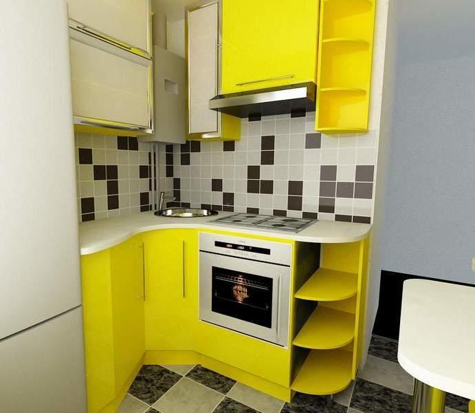 Современные дизайнерские хитрости помогают максимально эффективно использовать каждый квадратный метр площади кухни 6 кв м