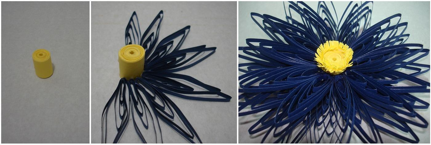 Перед тем как создать цветок в технике квиллинг, необходимо подготовить материалы