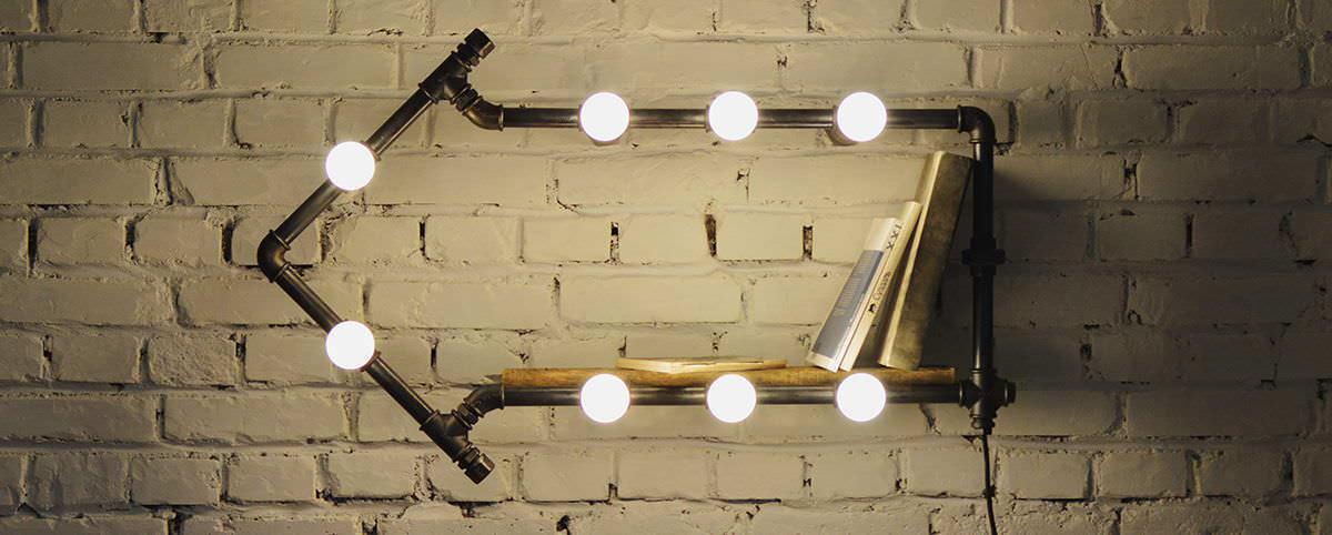 Для изготовления простой лампы потребуется минимальный набор инструментов и временных затрат