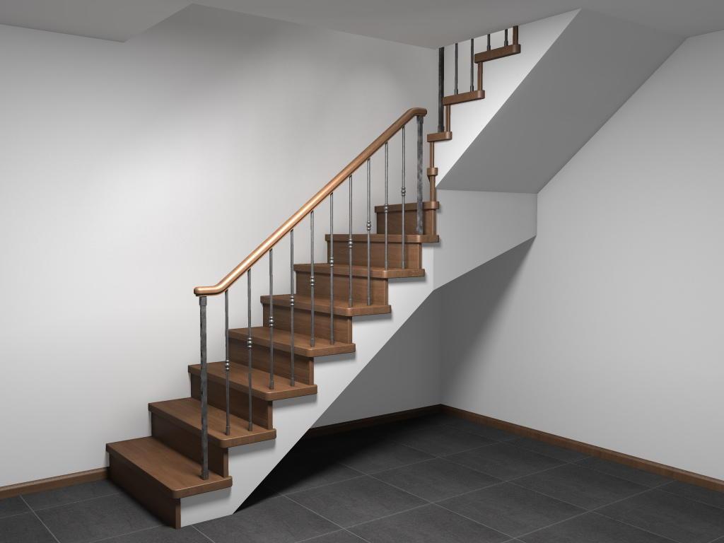 Преимущество недорогой лестницы заключается в том, что она имеет привлекательный вид и хорошее качество