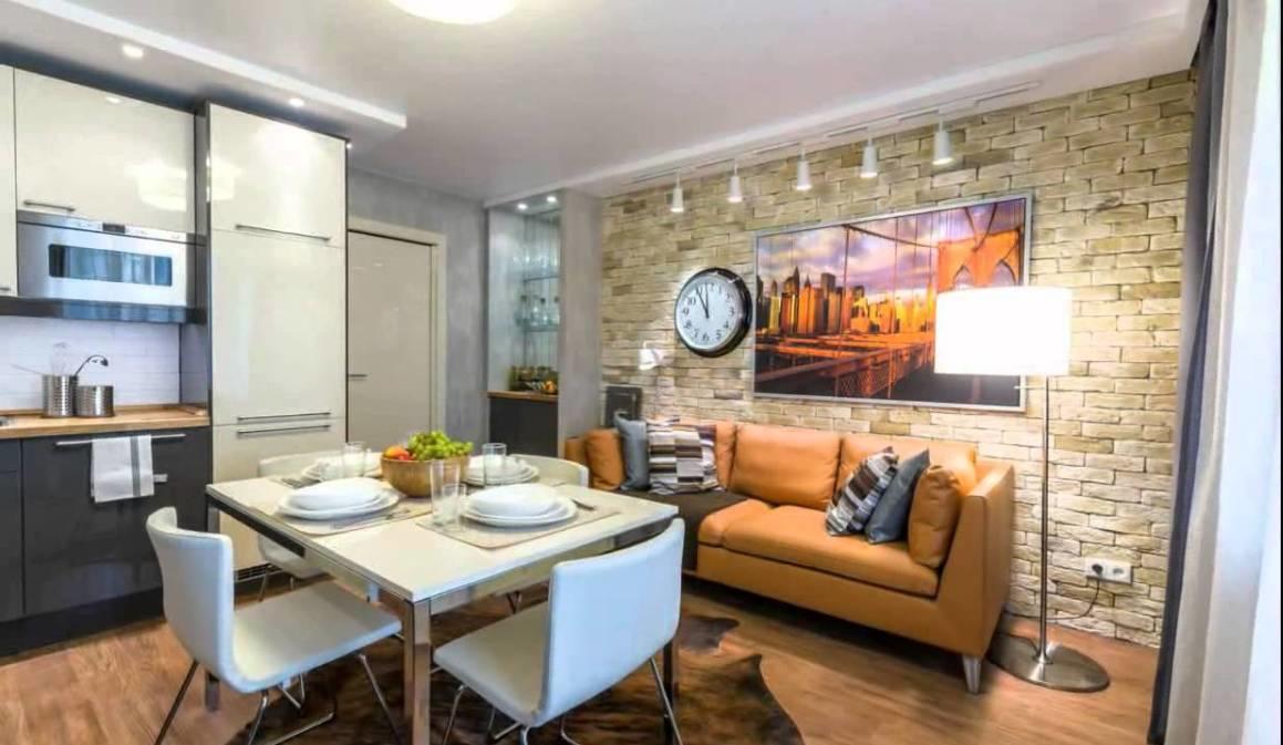 Для того чтобы кухня-гостиная выглядела уютной и красивой, ее необходимо оформлять в одном стиле
