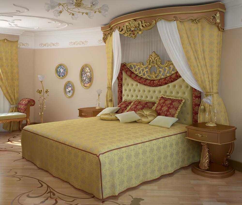 К оформлению интерьера спальни в частном доме нужно подойти внимательно и ответственно