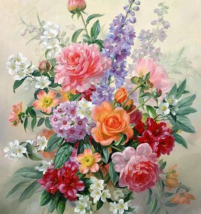 Картинки с изображением цветов хорошо подходят как для новичков, так и профессионалов, которые занимаются декупажем
