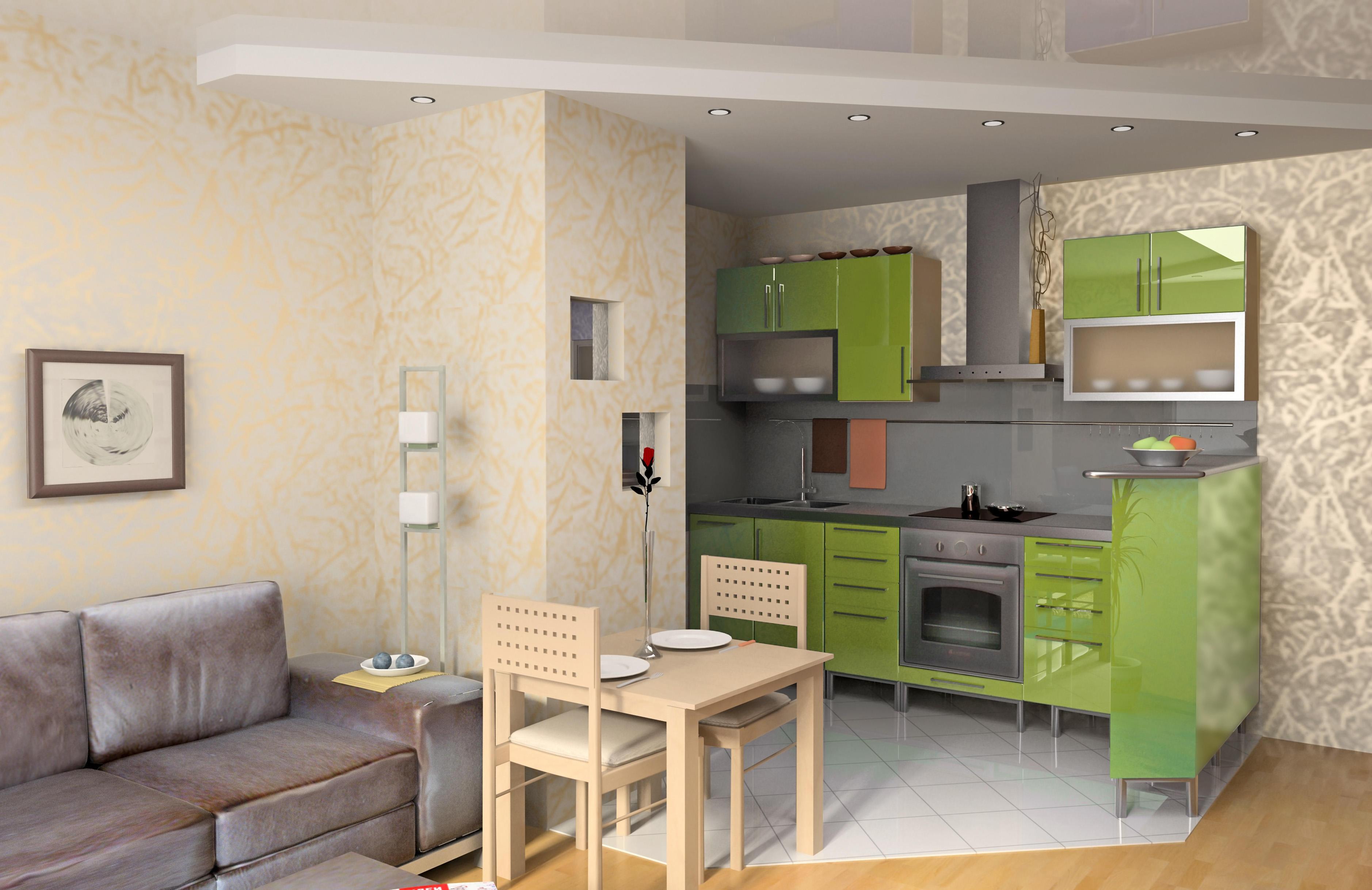 Квартиру с маленькой площадью можно сделать удобной и уютной