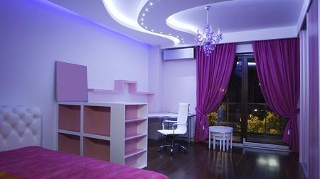 Выбирая материал для потолка, необходимо учитывать стиль помещения, его размеры и функциональное предназначение