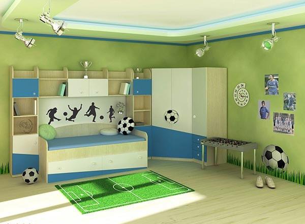 Детскую спальню следует оформлять с учетом пожеланий ребенка