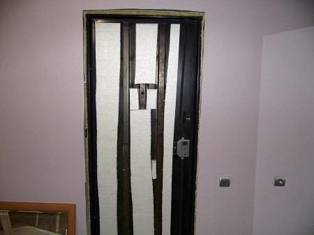 С помощью шумоизоляции дверей можно существенно повысить степень комфорта в квартире
