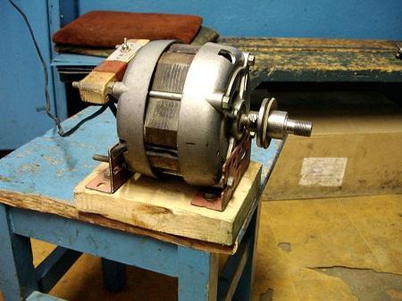 Из двигателя стиральной машины можно изготовить множество практичных изделий для применения в быту