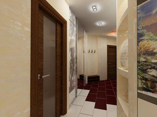Правильно подобранный дизайн поможет сделать даже маленькую прихожую красивой и уютной