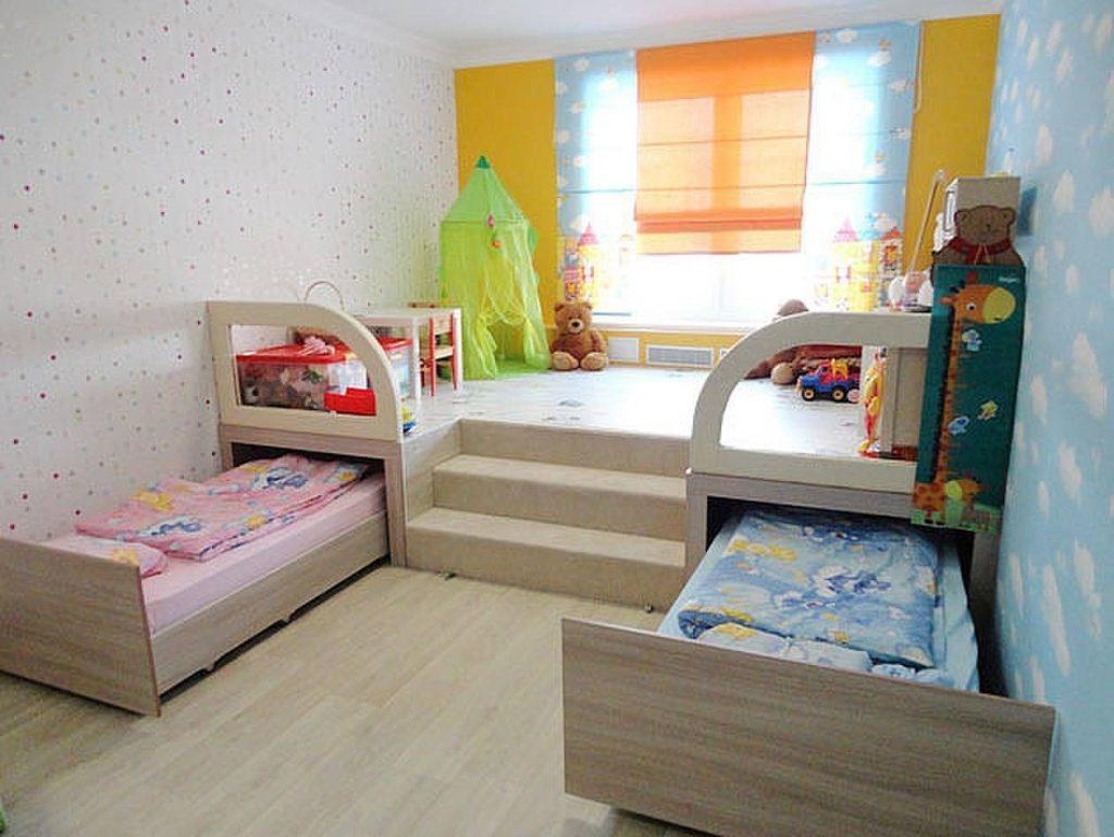 Существуют приемы, которые позволят обустроить красивый дизайн детской 12 кв. м