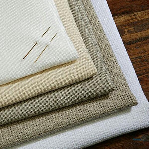 Правильно выбранная ткань для вышивки крестом придаст вашей работе неповторимости