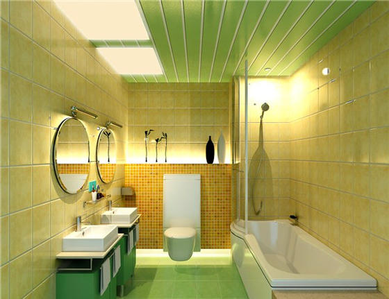 Правильно смонтированные панели ПВХ украсят потолок любого помещения