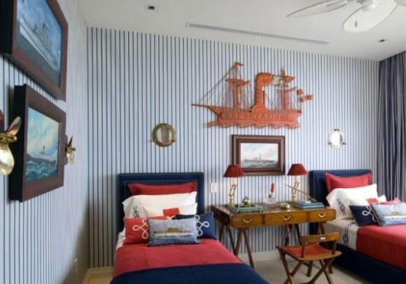 Оформляя детскую комнату для двух мальчиков, следует продумать не только ее интерьер, но и цветовую гамму