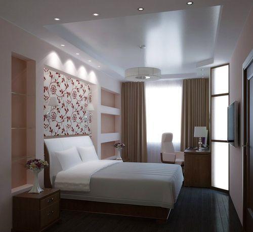 Даже в маленькой спальне можно создать красивый интерьер, который будет радовать приятной и уютной атмосферой