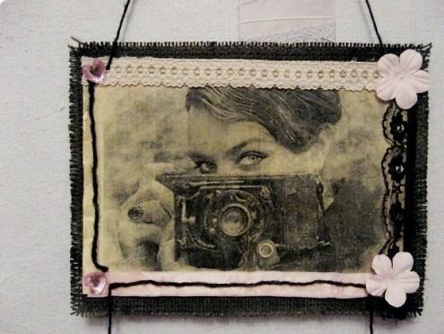 Сделать красивую винтажную вещь можно с помощью красивых картинок в стиле ретро