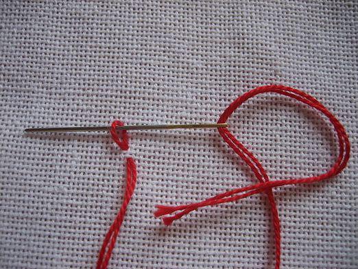 Закрепление нити при вышивке крестиком является немаловажным моментом в рукоделии