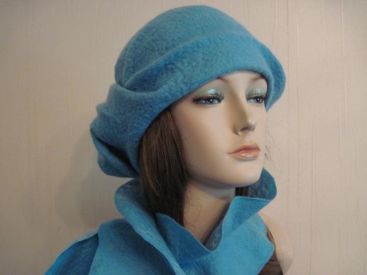 Шляпка, свалянная из шерсти, всегда будет модным атрибутом в вашем гардеробе