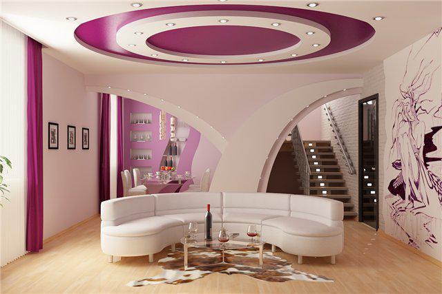 Дизайнерский потолок может стать прекрасным дополнением к интерьеру в вашем доме