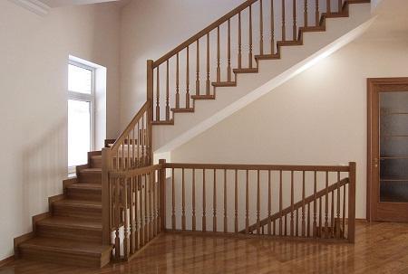 Межэтажные лестницы могут быть изготовлены из различных материалов: металла, дерева, стекла