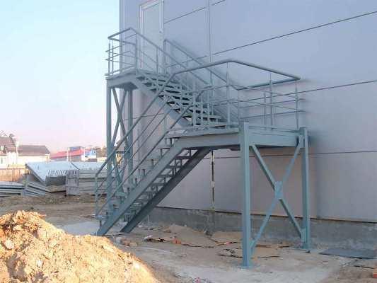 Пожарная лестница наружная требования снип ппб: чертеж гост, стационарные металлические, акт визуального осмотра, размещение и ремонт, эвакуационные
