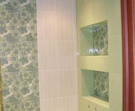 Благодаря нише можно улучшить эстетические свойства ванной и ее функционал