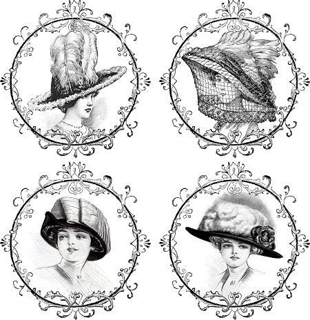 С помощью черно-белых картинок можно красиво и оригинально оформить любой предмет в технике декупаж
